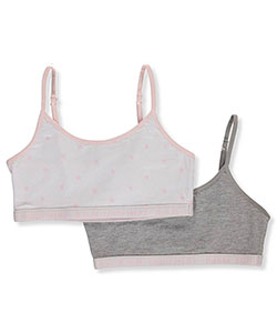 BUM Equipment Little Girls' 2-Pack Bralettes (Sizes 4 – 6X) - CookiesKids.com