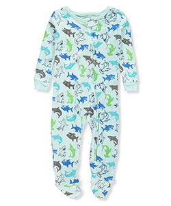 Boys Only Baby Boys' 1-Piece Footed Pajamas - CookiesKids.com