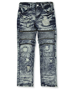 Road Narrows Big Boys' Distressed Jeans (Sizes 8 – 20) - CookiesKids.com