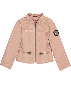 "Urban Republic Little Girls' Toddler ""Philomena"" Moto Jacket (Sizes 2T – 4T) - CookiesKids.com"