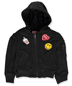 "Urban Republic Little Girls' Toddler ""Shake & Pop"" Jacket (Sizes 2T – 4T) - CookiesKids.com"