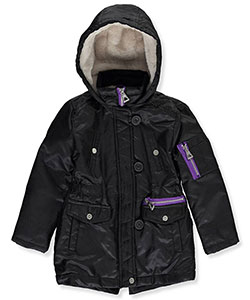 "Urban Republic Little Girls' Toddler ""Darlington"" Insulated Jacket (Sizes 2T – 4T) - CookiesKids.com"