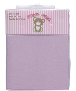 Honey Baby Fitted Crib Sheet - CookiesKids.com