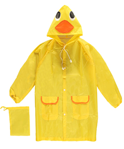 "CloudNine ""Rain Ducky"" Raincoat (Kids One Size) - CookiesKids.com"