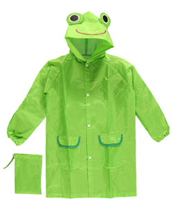"CloudNine ""Rain Froggy"" Raincoat (Kids One Size) - CookiesKids.com"