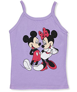 "Minnie Mouse Big Girls' ""Classic Couple"" Tank Top (Sizes 7 – 16) - CookiesKids.com"