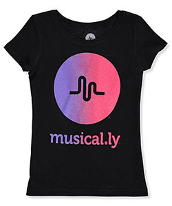Musical.ly Little Girls' T-Shirt (Sizes 4 – 6X) - CookiesKids.com