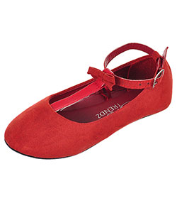 Blue Suede Shoes Girls' Mary Janes (Toddler Sizes 5 – 10) - CookiesKids.com