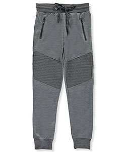 "Dunlop Big Boys' ""Angled Texture"" Joggers (Sizes 8 – 20) - CookiesKids.com"