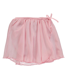 Jacques Moret Little Girls' Chiffon Wrap Skirt (Sizes 4 – 6X) - CookiesKids.com