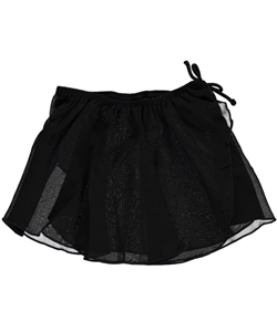 Jacques Moret Big Girls' Chiffon Wrap Skirt (Sizes 7 – 16) - CookiesKids.com