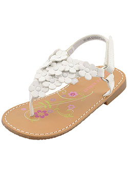 "Laura Ashley Girls ""Allison"" Sandals (Toddler Sizes 5 – 10) - CookiesKids.com"