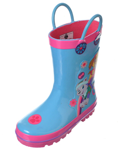 "Paw Patrol Girls' ""Playtime"" Rain Boots (Toddler Sizes 7 – 12) - CookiesKids.com"