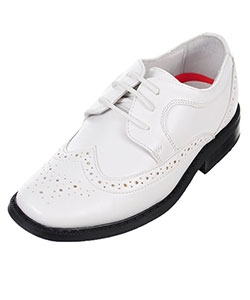 "Joseph Allen Boys' ""Worsted Wingtip"" Dress Shoes (Youth Sizes 5 – 8) - CookiesKids.com"