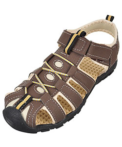 "Rugged Bear Boys' ""Mountaineer"" Sport Sandals (Youth Sizes 13 – 4) - CookiesKids.com"