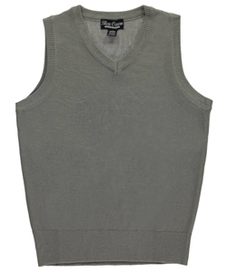 "Blue Ocean Big Boys' ""Election"" V-Neck Sweater Vest (Sizes 8 – 20) - CookiesKids.com"