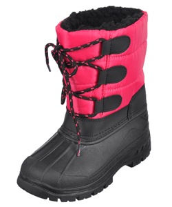 "Snow Tec Girls' ""Warm Haven"" Snow Boots (Toddler Sizes 11 – 12) - CookiesKids.com"