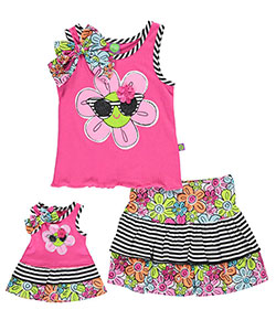 "Dollie & Me Little Girls' ""Rosie"" 2-Piece Outfit with Doll Outfit (Sizes 4 – 6X) - CookiesKids.com"