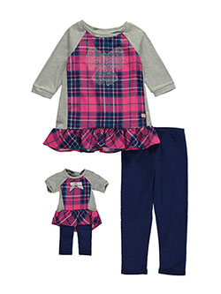 "Dollie & Me Little Girls' ""Head of the Class"" 2-Piece Outfit with Doll Outfit (Sizes 4 – 6X) - CookiesKids.com"