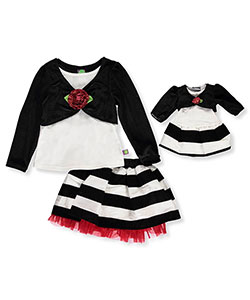 Dollie & Me Little Girls' 2-Piece Outfit with Doll Outfit (Sizes 4 – 6X) - CookiesKids.com