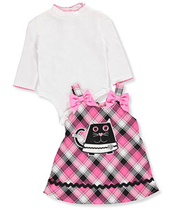 Youngland Baby Girls' 2-Piece Dress Set - CookiesKids.com