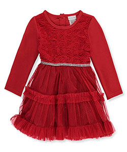 Sweet Heart Rose Baby Girls' Dress - CookiesKids.com