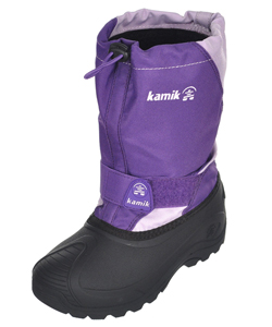 "Kamik Girls' ""Snow Fox"" Winter Boots (Youth Sizes 1 – 5) - CookiesKids.com"