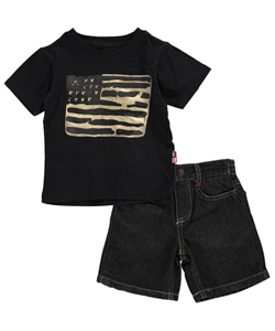 "Phat Farm Baby Boys' ""Phat Flag"" 2-Piece Outfit - CookiesKids.com"