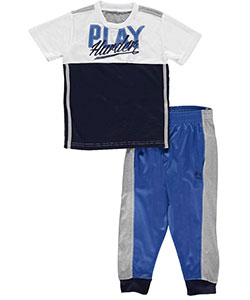 "RBX Little Boys' Toddler ""Play Harder"" 2-Piece Outfit (Sizes 2T – 4T) - CookiesKids.com"