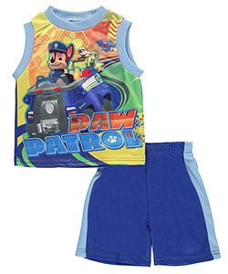"Paw Patrol Baby Boys' ""Ride Along"" 2-Piece Outfit - CookiesKids.com"