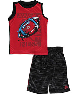 "RBX Little Boys' Toddler ""Awesomeness"" 2-Piece Outfit (Sizes 2T – 4T) - CookiesKids.com"