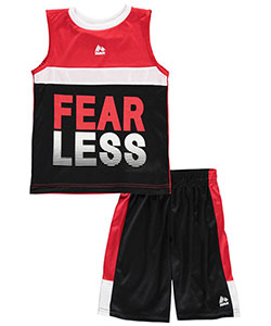 "RBX Little Boys' ""Fearless"" 2-Piece Outfit (Sizes 4 – 7) - CookiesKids.com"