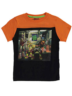 "TMNT Little Boys' Toddler ""Turtles of Justice"" T-Shirt (Sizes 2T – 4T) - CookiesKids.com"