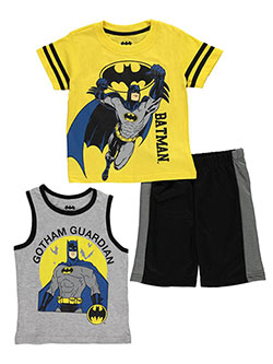 "Batman Little Boys' Toddler ""Defender of Gotham"" 3-Piece Set (Sizes 2T – 4T) - CookiesKids.com"