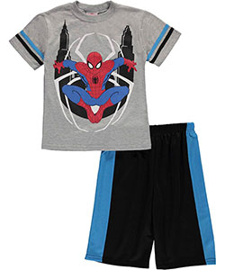 "Spider-Man Little Boys' ""City Watch"" 2-Piece Outfit (Sizes 4 – 7) - CookiesKids.com"