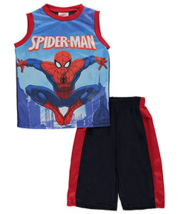 "Spider-Man Big Boys' ""Heroic Leap"" 2-Piece Outfit (Sizes 8 – 20) - CookiesKids.com"