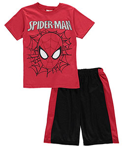 "Spider-Man Big Boys' ""Masked Web"" 2-Piece Outfit (Sizes 8 – 20) - CookiesKids.com"