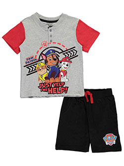 "Paw Patrol Little Boys' Toddler ""Yelp for Help!"" 2-Piece Outfit (Sizes 2T – 4T) - CookiesKids.com"