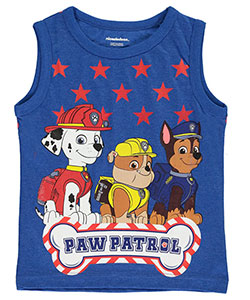 "Paw Patrol Little Boys' ""Rescue All-Stars"" Tank Top (Sizes 4 – 7) - CookiesKids.com"