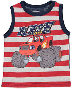 "Blaze and the Monster Machines Little Boys' Toddler ""Ride"" Tank Top (Sizes 2T – 4T) - CookiesKids.com"