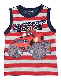 "Blaze and the Monster Machines Little Boys' ""Ride"" Tank Top (Sizes 4 – 7) - CookiesKids.com"