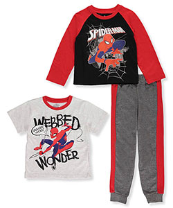 Spider-Man Little Boys' 3-Piece Set (Sizes 4 – 7) - CookiesKids.com