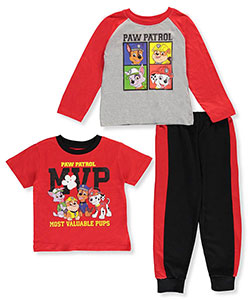 Paw Patrol Little Boys' 3-Piece Set (Sizes 4 – 7) - CookiesKids.com