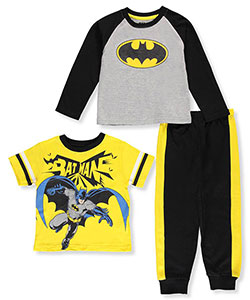 Batman Little Boys' 3-Piece Set (Sizes 4 – 7) - CookiesKids.com