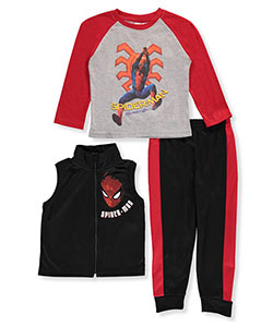 Spider-Man Little Boys' Toddler 3-Piece Outfit (Sizes 2T – 4T) - CookiesKids.com