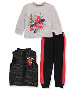 Spider-Man Little Boys' 3-Piece Outfit (Sizes 4 – 7) - CookiesKids.com