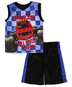 Blaze and the Monster Machines Boys' 2-Piece Outfit - CookiesKids.com