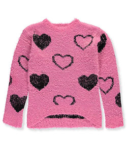 Dream Star Big Girls' Sweater (Sizes 7 – 16) - CookiesKids.com