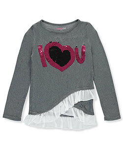 Dream Star Big Girls' L/S Shirt (Sizes 7 – 16) - CookiesKids.com