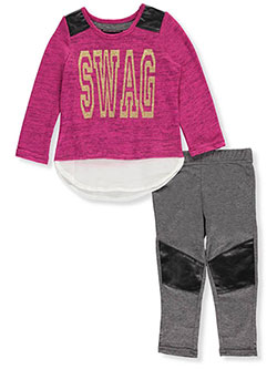 Dream Star Little Girls' Toddler 2-Piece Outfit (Sizes 2T – 4T) - CookiesKids.com
